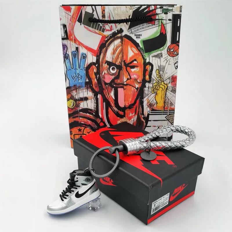 3D sneakers key chain-006
