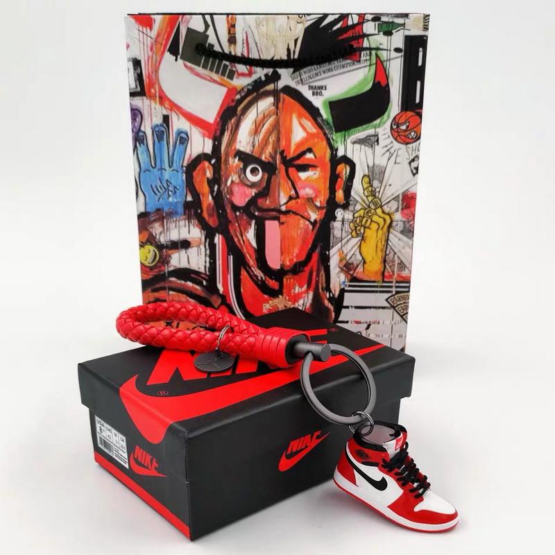 3D sneakers key chain-013