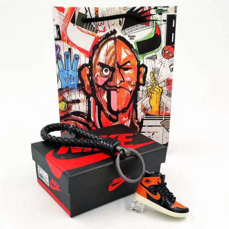 3D sneakers key chain-023