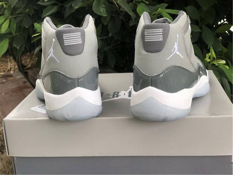 Authentic Air Jordan 11 Cool Grey 2021