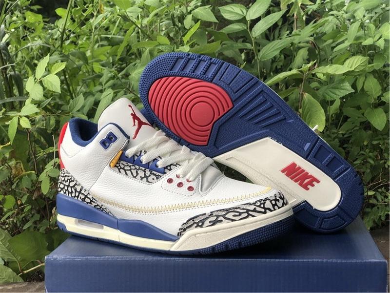 Union x Air Jordan 3 True Blue