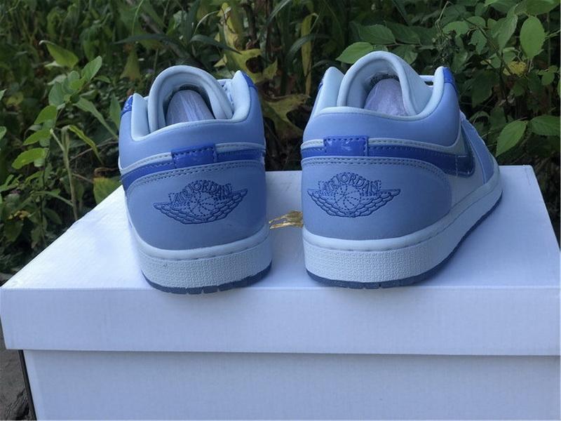 Authentic Air Jordan 1 Low Mighty Swooshers